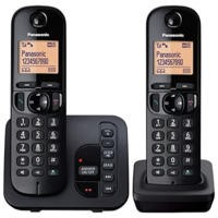 Panasonic KX-TGC222EB DECT Call Block TAM - Twin in Black