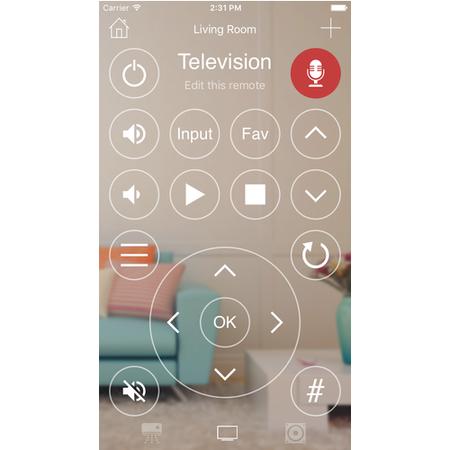 KlikR Bluetooth IR Blaster Remote White - Control IR Devices