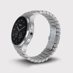 Vector Luna Unisex Smart Watch - Steel Silver Case with Steel Silver Bracelet