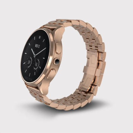 Open Box - Vector Luna Smart Watch - Rose Gold Case with Rose Gold Bracelet