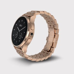 GRADE A1 - Vector Luna Smart Watch - Rose Gold Case with Rose Gold Bracelet