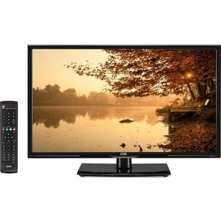 "GRADE A1 - Logik L24HED18 24"" LED TV with DVD Player & 1 Year Warranty"