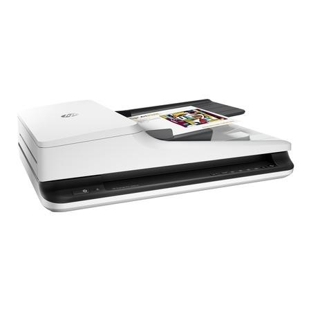 HP Scanjet Pro 2500 f1 - Document scanner - Duplex - 216 x 3100 mm - 1200 dpi x 1200 dpi - up to 20 ppm mono / up to 20 ppm colour - ADF  50 sheets  - up to 1500 scans per da