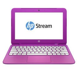 "Refurbished HP Stream 11 11.6"" Intel Celeron N2840 2.16GHz 2GB 32GB Win8.1 Laptop in Purple"