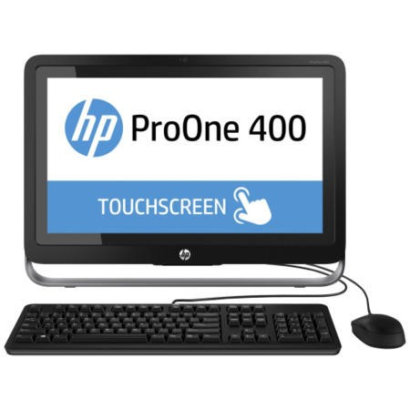 "HP 400G1 Core i3-4160 3.1GHz 4GB 500GB DVD-SM 21.5"" Windows 8.1 Pro All In One Desktop Touch"