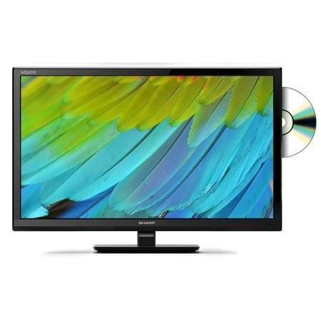 "Sharp LC-24DHG6131K 24"" 720p HD Ready LED Smart TV and DVD Combi"