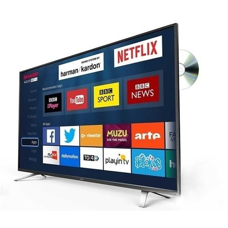 "Sharp LC-32DHG6021K 32"" 720p HD Ready Smart TV and DVD Combi with Freeview HD"