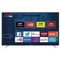 "Sharp LC-49CFE6241K 49"" 1080p Full HD LED Smart TV with Freeview HD"