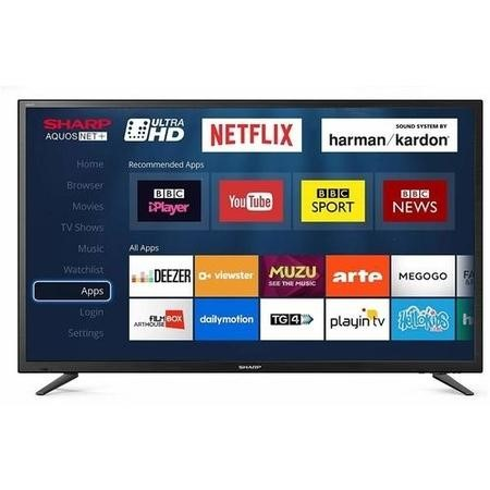 "LC-49CUG8052K Sharp LC-49CUG8052K 49"" 4K Ultra HD LED Smart TV with Freeview HD"