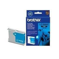 Brother LC 1000C  Print Cartridge  - Cyan