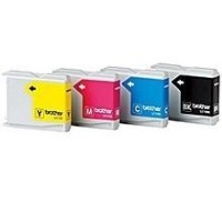 Brother LC 1000 Value Pack - print cartridge