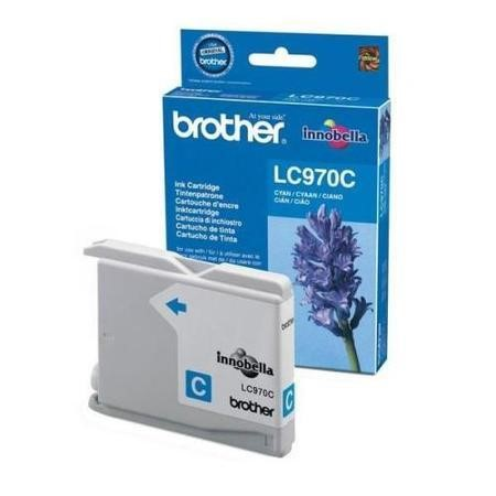Brother LC 970C  Print Cartridge - Cyan