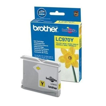 Brother LC 970Y Print Cartridge - Yellow