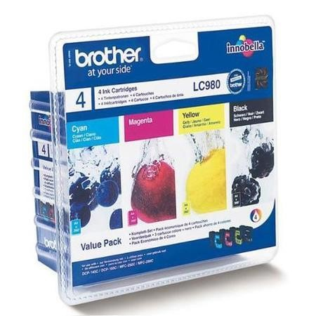 Brother LC980 Value Blister Pack