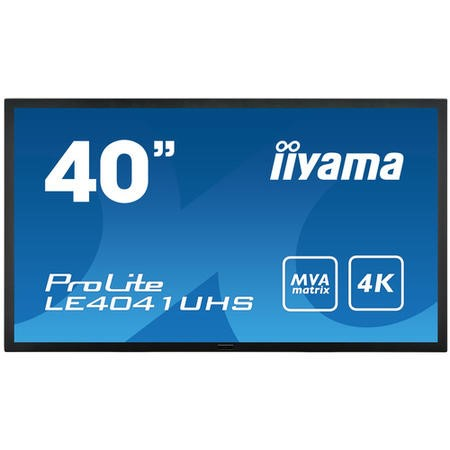"Iiyama LE4041UHS-B1 40"" 4K Ultra HD LED Large Format Display"