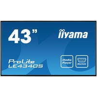 "Iiyama LE4340SB1 43"" Full HD LED Large Format Display"