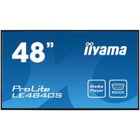 "Iiyama LE4840S-B1 48"" Full HD LED Large Format Display"