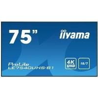 "Iiyama ProLite LE7540UHS-B1 75"" 4K Ultra HD Large Format Display"
