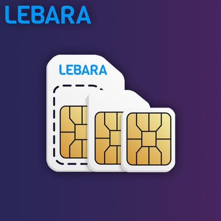 Lebara Pay As You Go Sim Card Trio