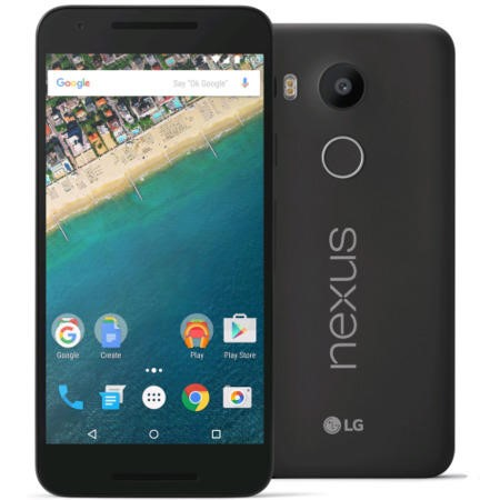 "LGH791.A3GBBK LG Google Nexus 5X Carbon Black 5.2"" 32GB 4G Unlocked & SIM Free"