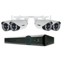 Lorex 4 Channel 720p HD 4 Channel Digital Video Recorder with 4 x 720p Wireless Cameras & 1TB Hard Drive