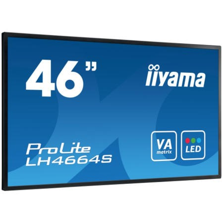 "LH4664S-B Iiyama ProLite LH4664S-B 46"" Full HD LED Large Format Display"