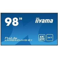 "Iiyama LH9852UHS-B1 98"" 4K Ultra HD Large Format Display"
