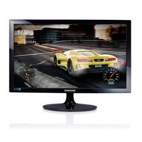 "Samsung 24"" LS24D330HSX/EN Full HD 1ms Monitor"