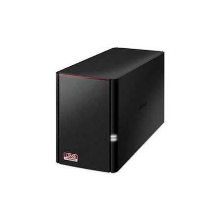 Buffalo LinkStation 520 2 Bay Diskless Desktop NAS