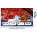"LT-32C696/A GRADE A1 - JVC LT-32C696 32"" HD Ready Smart LED TV and DVD Combi with 1 Year Warranty - White"