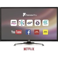 "GRADE A1 - JVC LT-32C780 32"" Full HD Smart LED TV with 1 Year Warranty"