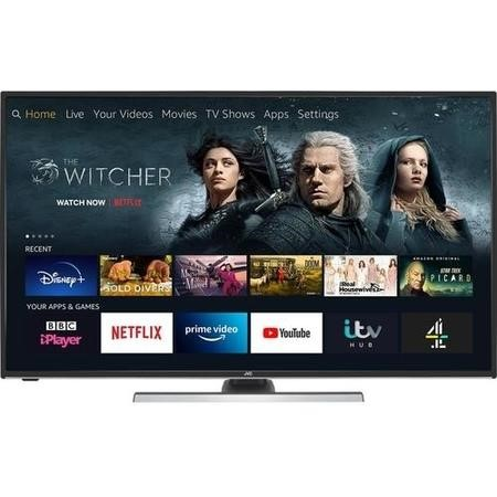 "Refurbished - Grade A2 - JVC LT-40CF890 Fire TV Edition 40"" 4K Ultra HD HDR Smart LED TV with Amazon Alexa"