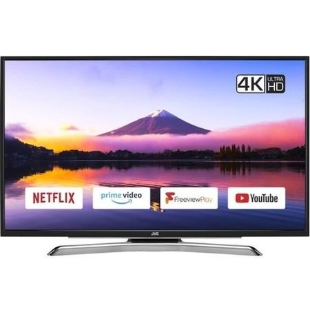 "GRADE A1 - JVC LT-43C890 43"" 4K Ultra HD Smart HDR LED TV with 1 Year Warranty"