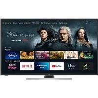 "Refurbished JVC Fire Edition 49"" 4K Ultra HD with HDR LED Smart TV"