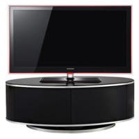 MDA Designs Luna Black TV Cabinet up to 50 inch