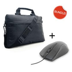 Buy It Direct value Bag and Mouse Bundle 15.6 inch bag and wired USB Mouse