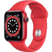 Apple Watch Series 6 GPS - 40mm RED Aluminium Case with RED Sport Band - Regular