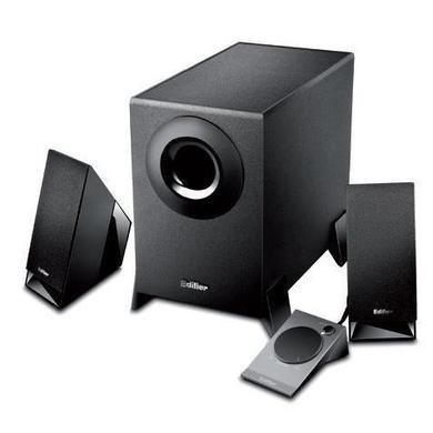 Edifier M1360 2.1 Multimedia Audio Speaker System with Upward Angled Speakers - Black