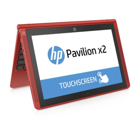 Hewlett Packard HP X2 10-n002na Intel Atom Z3736 2GB 32GB 10.1 Inch HD Touchscreen Windows 8.1 With Bing laptop In Red