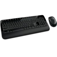 Microsoft Wireless Keyboard & Mouse 2000 - Black