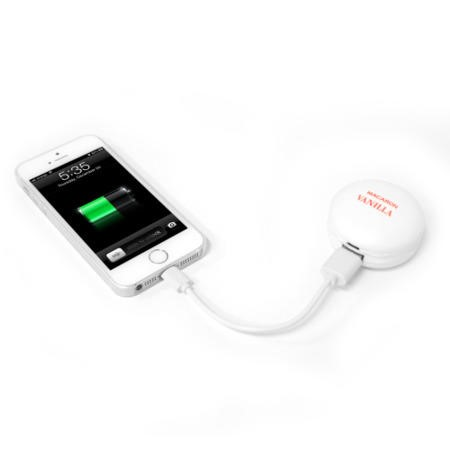 Stylish Small Portable 2400mAh Power Bank Charger For All Smartphones