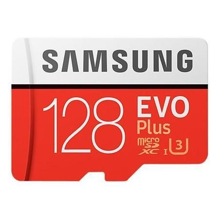 MB-MC128GA/EU Samsung EVO Plus 128GB MicroSDXC with Adapter