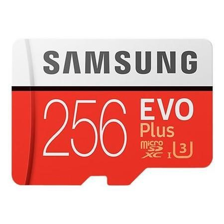MB-MC256GA/EU Samsung EVO Plus 256GB MicroSDXC with Adapter