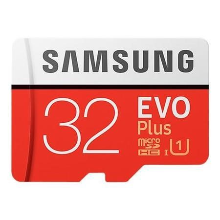 MB-MC32GA/EU Samsung EVO Plus 32GB MicroSDHC with Adapter