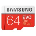 MB-MC64GA/EU Samsung EVO Plus 64GB MicroSDXC With Adapter