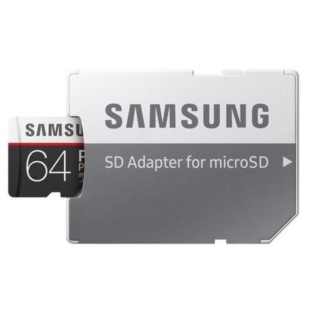Samsung PRO Plus 64GB MicroSD Card with Adapter