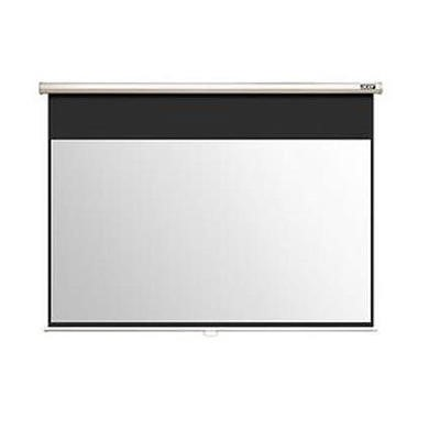 M90-W01MG Projection Screen 90'' 16_9 Wall & Ceiling Gray Manual