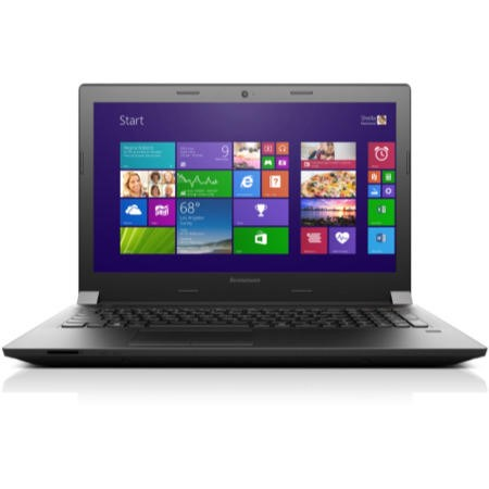 Refurbished A2 Lenovo B50-30 Celeron N2830 2.16GHz 4GB 320GB DVDSM 15.6 inch Windows 8.1 Laptop in Black