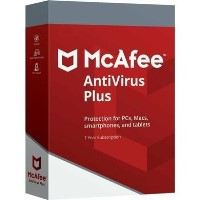 McAfee AntiVirus Plus 1 Device - 12 Month Subscription