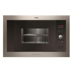 AEG MCD1763E-M 17 L Built-in Microwave Oven with Grill